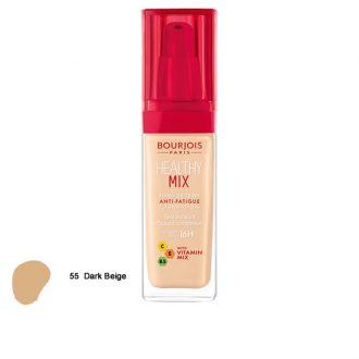 کرم پودر هیلثی میکس بورژوا Bourjois Healthy Mix 55