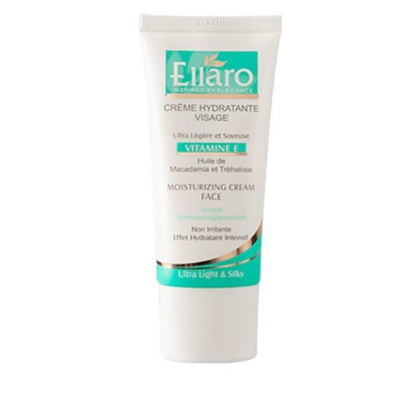 کرم الارو مرطوب کننده حاوی ویتامین ای Ellaro Vitamine E