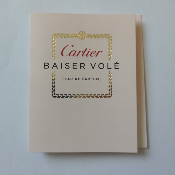 01a2062c5 سمپل عطر زنانه کارتیر بایسر ول Cartier Baiser Vole Sample - حلیه