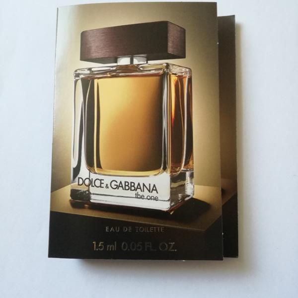 سمپل عطر دولچه گابانا دوان Dolce & Gabbana The One Sample