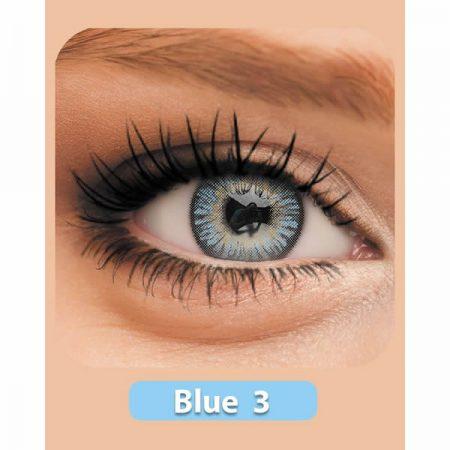 لنز رنگی اینوآر Inoar Blue 3