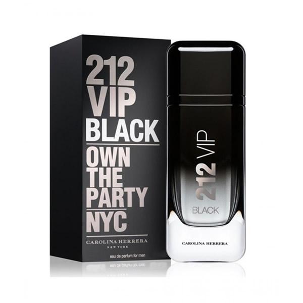 ادکلن مردانه Carolina Herrera 212 vip black-1