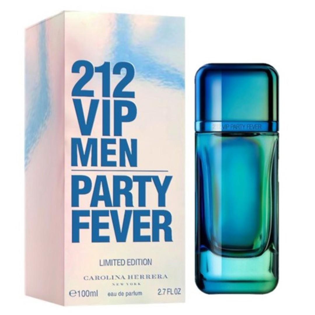 Carolina Herrera 212 vip party Fever for Men-2