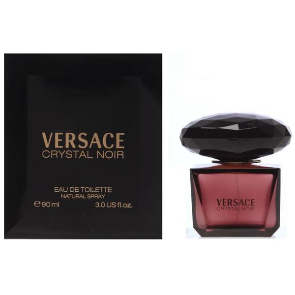 عطر زنانه ورساچه کریستال نویر Versace Crystal Noir 90ml EDT