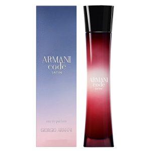 عطر زنانه جورجیو آرمانی کد سالتین Giorgio Armani Code Satin