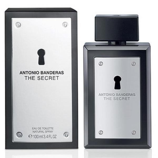ادکلن مردانه آنتونیو باندراس سکرت Antonio Banderas The Secret