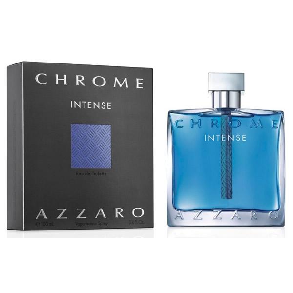 ادکلن مردانه آزارو کروم اینتنس Azzaro Chrome Intense