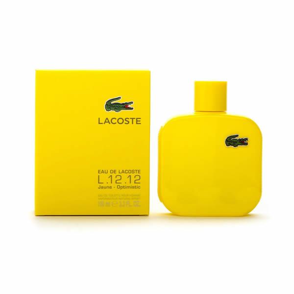 ادکلن مردانه لاگوست ال.12.12 یلو Lacoste L.12.12. Yellow Women