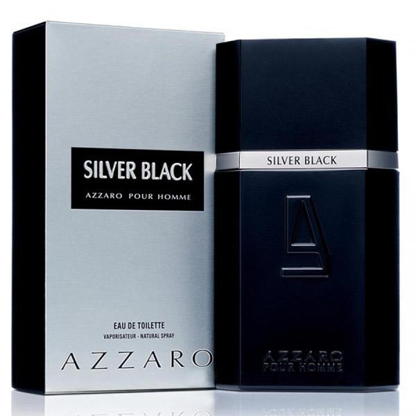 ادکلن مردانه آزارو سیلور بلک Azzaro Silver Black EDT