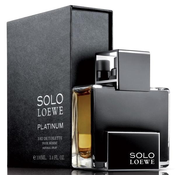 ادکلن مردانه لوه سولو پلاتینیوم Loewe Solo Platinum Men EDT