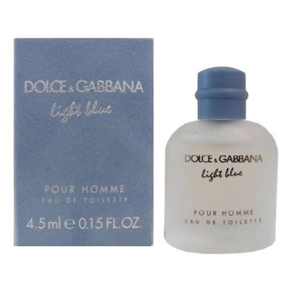 عطر مینیاتوری مردانه دولچه گابانا لایت بلو Dolce&Gabbana Light Blue