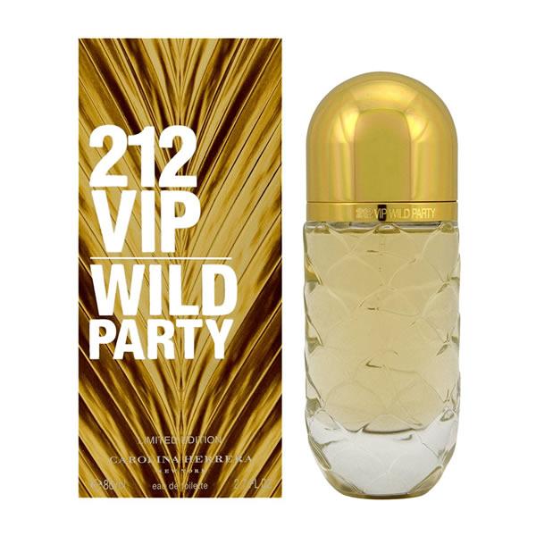 عطر زنانه کارولینا هررا 212 وایلد پارتی 212VIP Wild Party 80ml