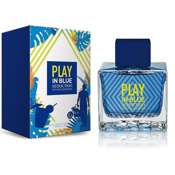 ادکلن مردانه آنتونیو باندراس پلی این بلو سداکشن Play In Blue Seduction