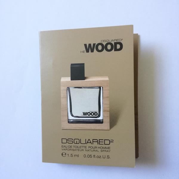 سمپل عطر مردانه دیسکوارد هی وود Dsquared He wood Sample