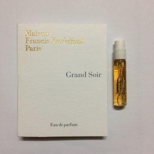 سمپل عطر زنانه-مردانه کوردیجان گرند سویر Kurkdjian Grand Soir Sample