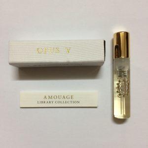 سمپل عطر زنانه-مردانه آمواج اوپوس Amouage Opus V Sample V