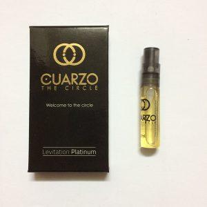 سمپل عطر زنانه-مردانه کوارزو لویتیشن پلاتینیوم Cuarzo Levitation Platinum Sample
