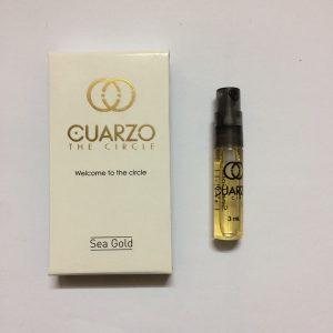 سمپل عطر زنانه-مردانه کوارزو سی گلد Cuarzo Sea Gold Sample