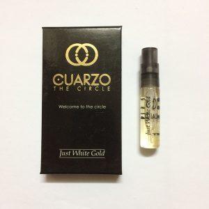 سمپل عطر کوارزو جاست وایت گلد Cuarzo Just White Gold