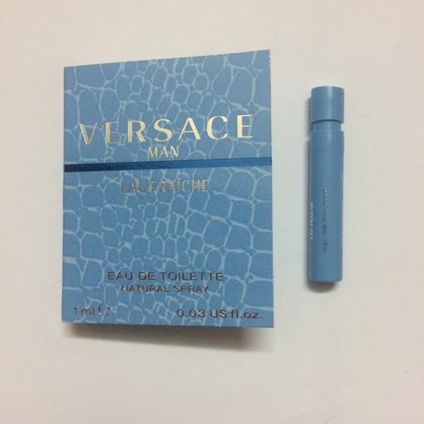 سمپل عطر مردانه ورساچه فرش Versace Man Eau Fraiche Sample