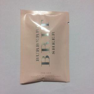 سمپل عطر زنانه بربری بریت شیر Burberry Brit Sheer Sample
