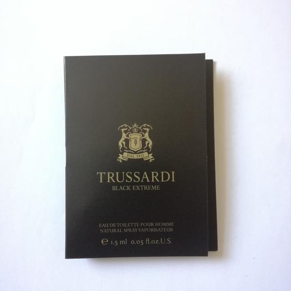 سمپل عطر مردانه تروساردی بلک اکستریم Trussardi Black Extreme Sample