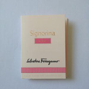 سمپل عطر سالواتوره فراگامو سیگنورینا این فیور Signorina Salvatore Ferragamo
