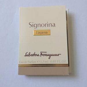 عطر زنانه سالواتوره فراگامو Salvatore Ferragamo Signorina Eleganza Sample