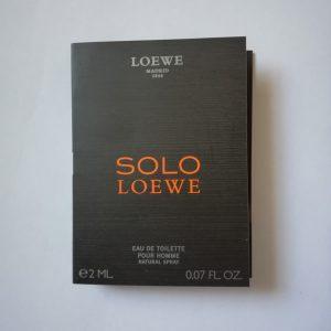 سمپل عطر مردانه سولو لووه Solo Loewe Sample
