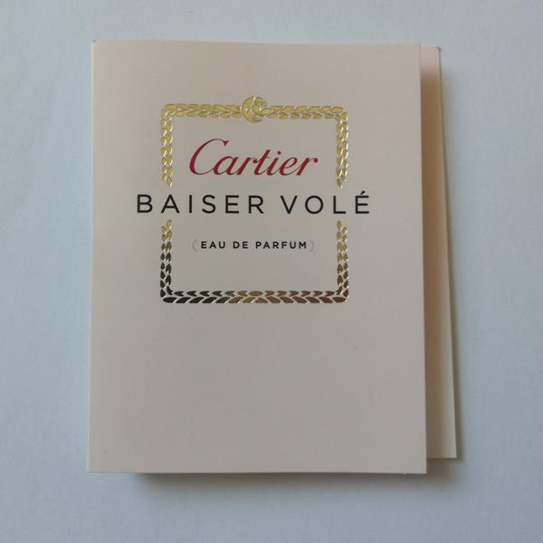 سمپل عطر زنانه کارتیر بایسر ول Cartier Baiser Vole Sample